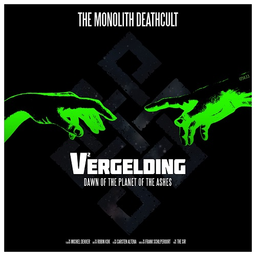 The Monolith Deathcult  - V2 - Vergelding - Cover