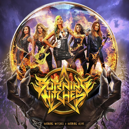 Burning Witches - Burning Witches + Burning Alive (Re-Release) - Cover
