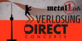 Special Grafik Gewinne je 2 Tickets für Metal-Shows in Berlin