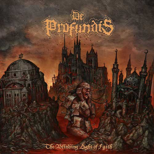 De Profundis - The Blinding Light Of Faith - Cover