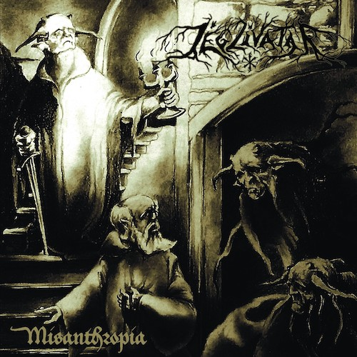 Jégzivatar - Misanthropia (EP) - Cover