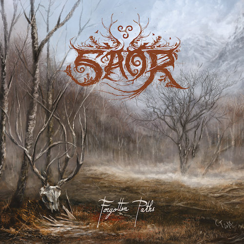 Saor - Forgotten Paths - Cover