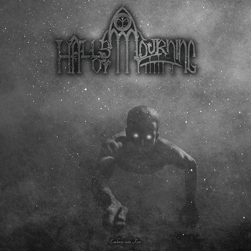 Halls Of Mourning - Embers Into Fire - Cover