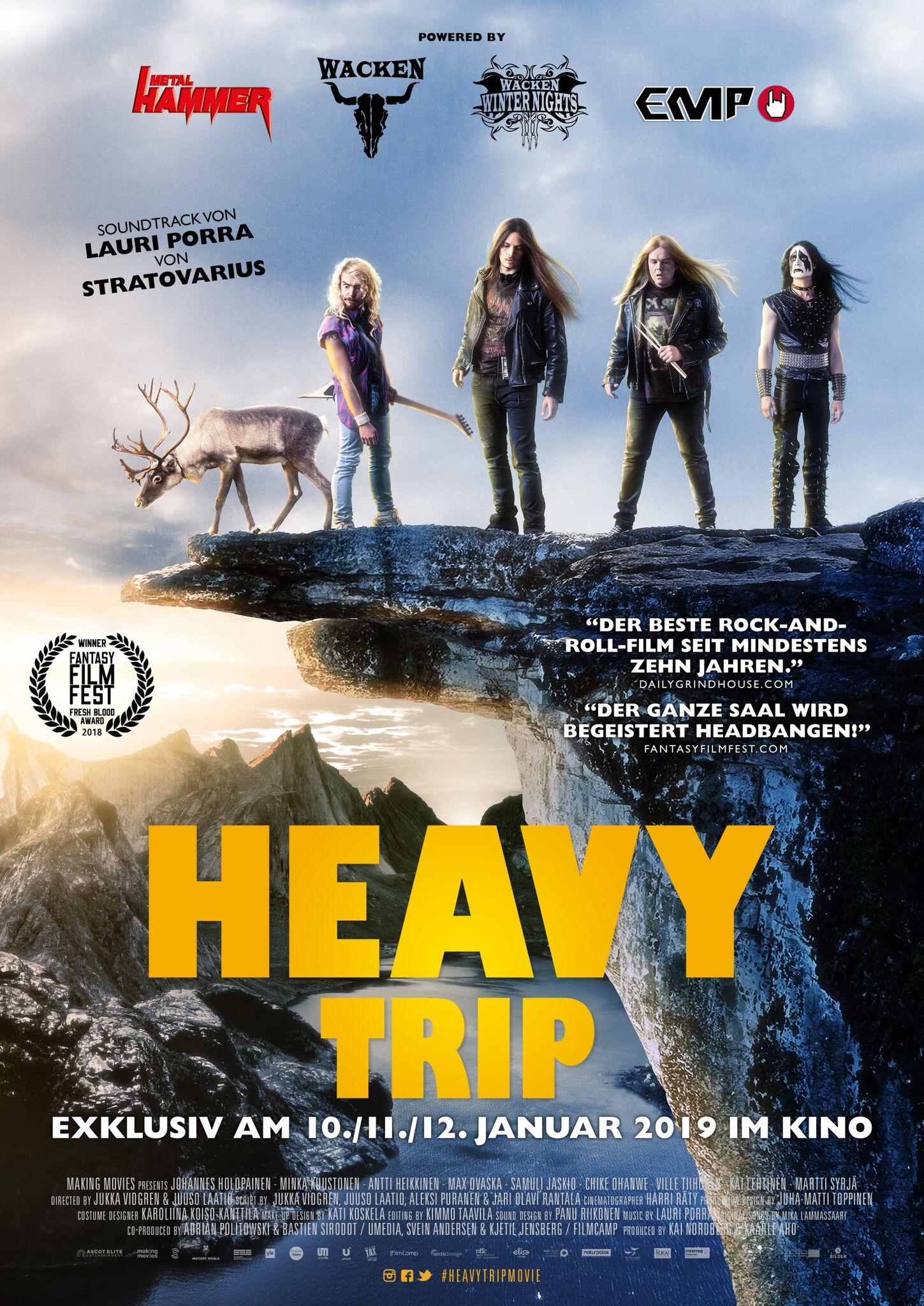 Heavy Trip - Kinofilm - Cover