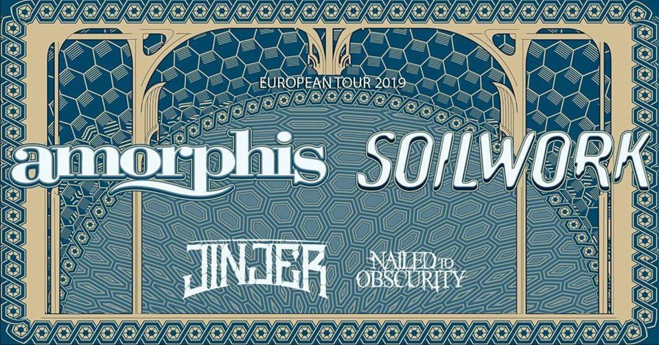 Flyer zur Amorphis-Tour 2019