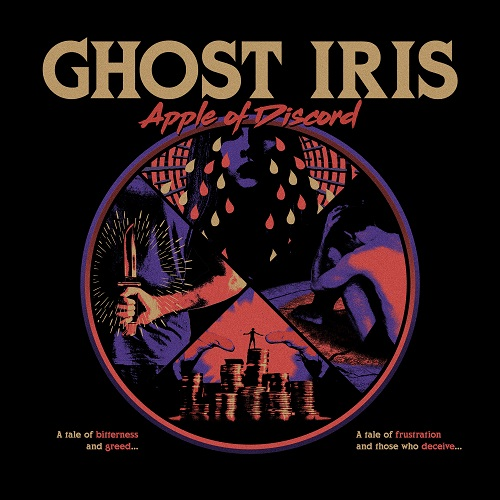 Ghost Iris - Apple Of Discord - Cover
