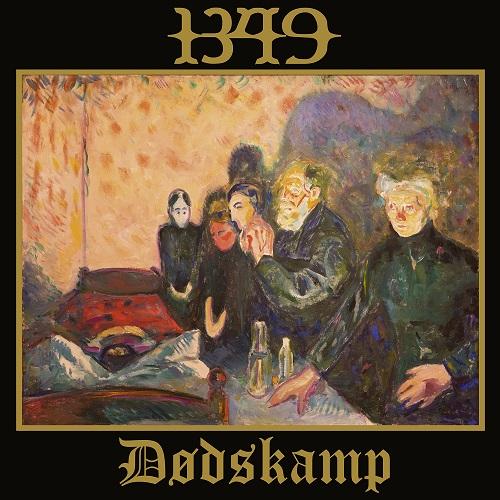 1349 - Dødskamp (EP) - Cover