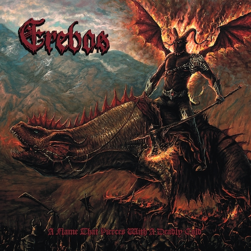 Erebos - A Flame That Pierces With A Deadly Cold - Cover