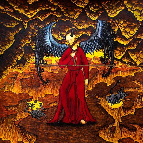 Ligfaerd - Den Ildrøde Konge - Cover