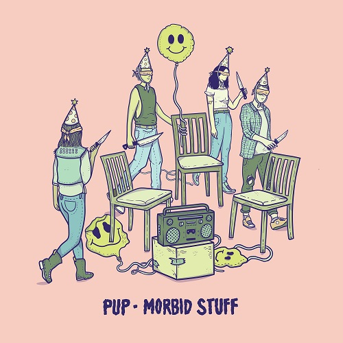 Pup - Morbid Stuff - Cover