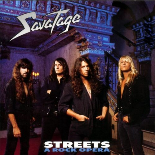 Savatage - Streets (A Rock Opera) - Cover