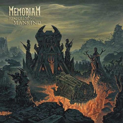 Memoriam - Requiem For Mankind - Cover