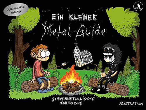Alistration - Ein kleiner Metal-Guide – Schwermetallische Cartoons - Cover