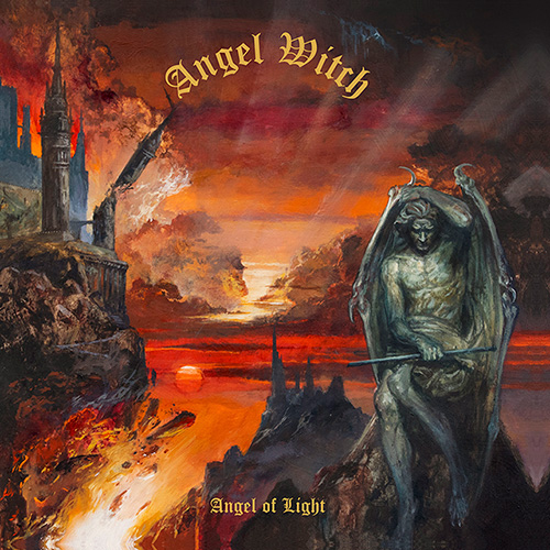 """Das Cover des Angel Witch-Albums """"Angel Of Light"""""""