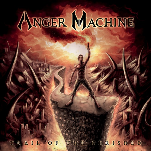 Anger Machine - Trail Of The Perished - Cover