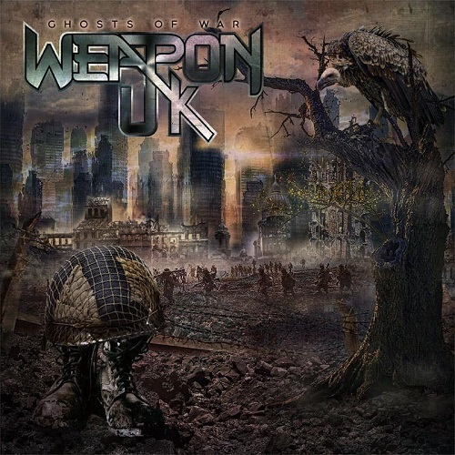 "Das Cover des Weapon UK-Albums ""Ghosts Of War"""