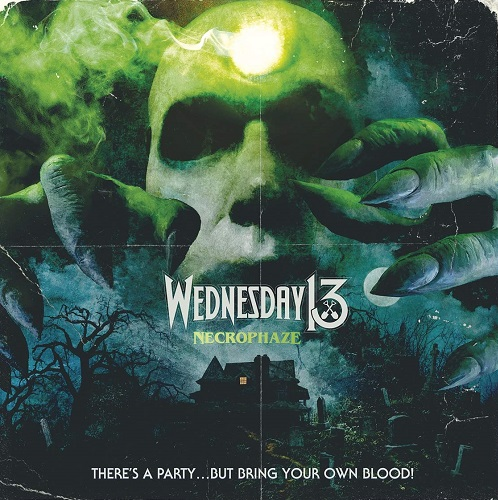 Wednesday 13 - Necrophaze - Cover