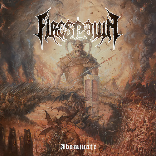 Firespawn - Abominate - Cover