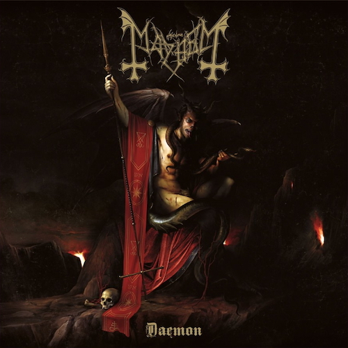 Mayhem - Daemon - Cover