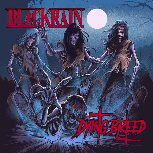 Blackrain - Dying Breed - Cover