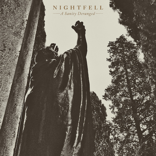 Nightfell - A Sanity Deranged - Cover