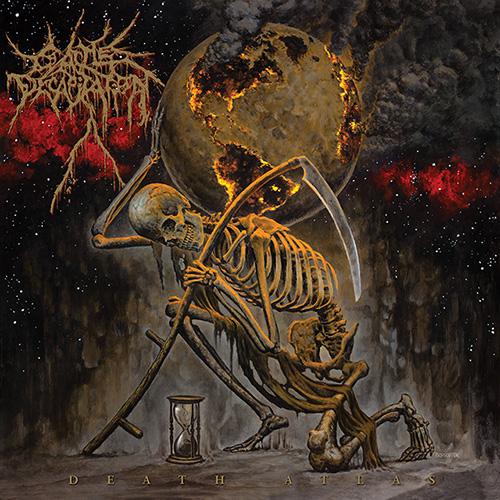 """Das Cover des Cattle-Decapitation-Albums """"Death Atlas"""""""
