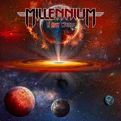 "Das Cover des Millennium-Albums ""A New World"""