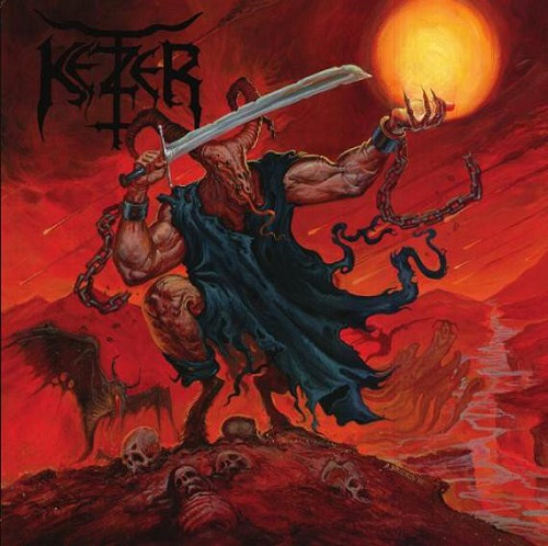 Ketzer - Satan's Boundaries Unchained (Re-Release) - Cover