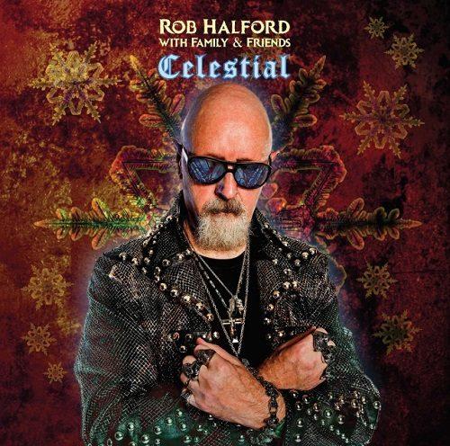 """Das Artwork von """"Celestial"""", einem Solo-Album von Judas-Priest-Sänger Rob Halford."""