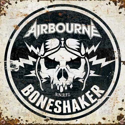 Airbourne - Boneshaker - Cover