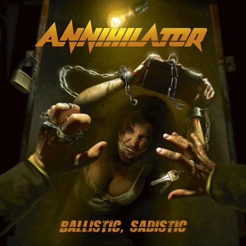 """Das Cover des Annihilator-Albums """"Ballistic, Sadistic"""""""