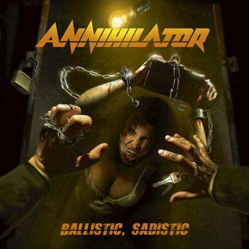 Annihilator - Ballistic, Sadistic - Cover