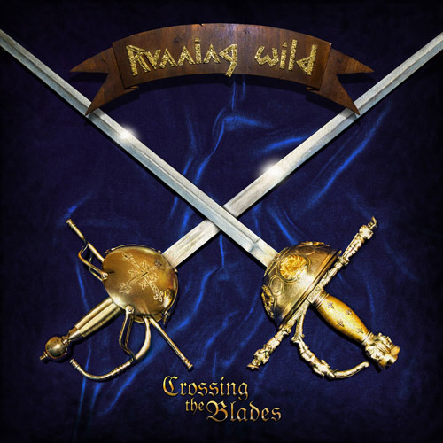 Running Wild - Crossing The Blades (EP) - Cover