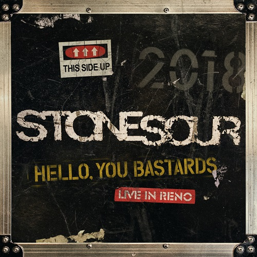 Stone Sour - Hello, You Bastards: Live In Reno - Cover