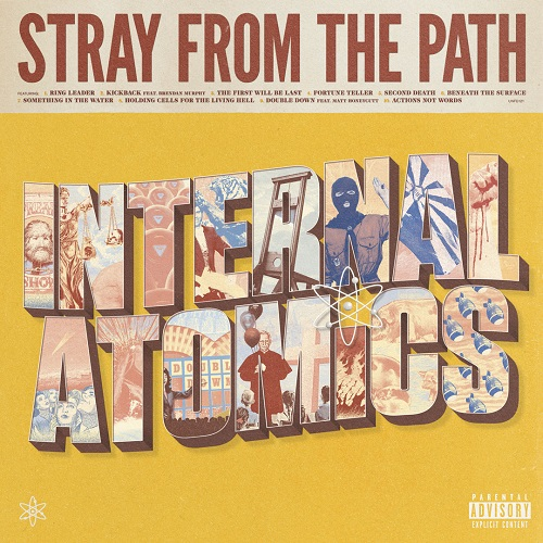 Stray From The Path - Internal Atomics - Cover