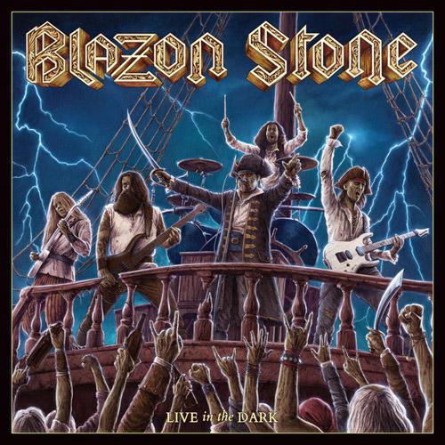 Blazon Stone - Live In The Dark - Cover
