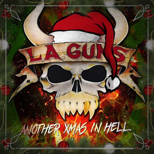 """Das Cover von """"Another Xmas In Hell"""" von L.A. Guns."""