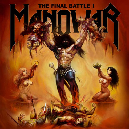 Manowar - The Final Battle I (EP) - Cover