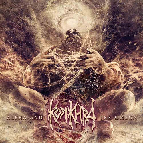 Konkhra - Alpha And The Omega - Cover