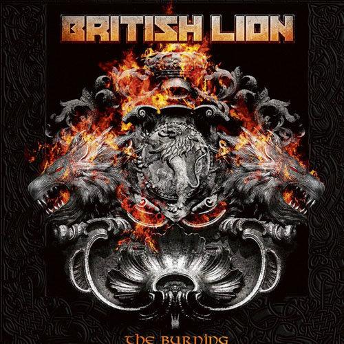"""Das Cover von """"The Burning"""" von British Lion."""