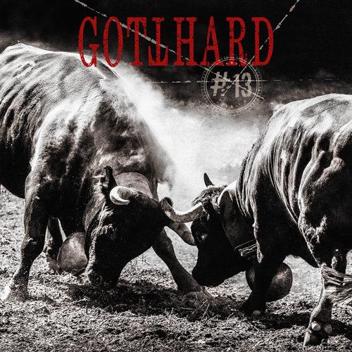 """Das Cover des Gotthard-Albums """"#13"""""""