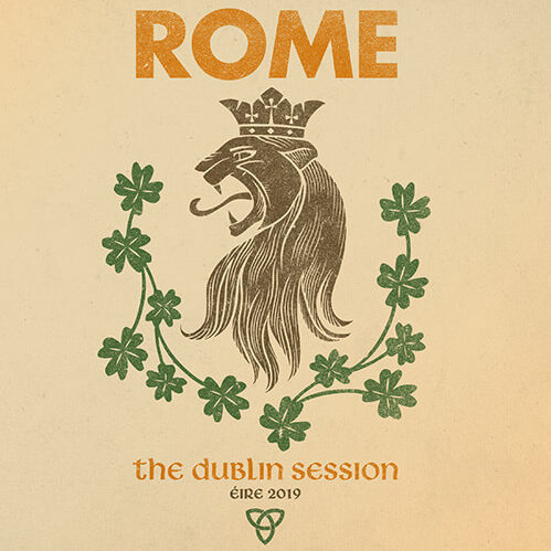 Rome - The Dublin Session - Cover