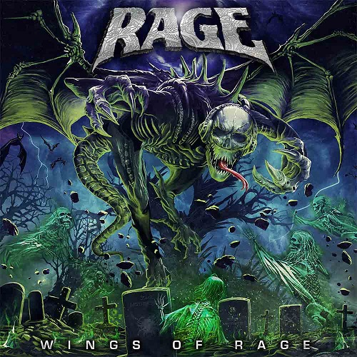 Rage - Wings Of Rage - Cover
