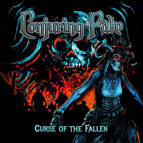 """Das Cover von """"Curse Of The Fallen"""" von Conjuring Fate"""