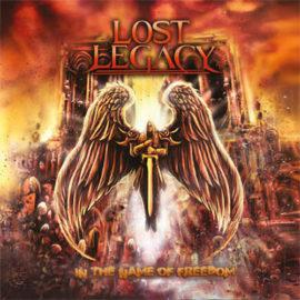"Das Cover von ""In The Name Of Freedom"" von Lost Legacy"