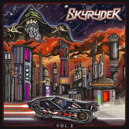 Skyryder - Vol.2 (EP) - Cover