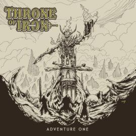 """Das Cover von """"Adventure One"""" von Throne Of Iron."""