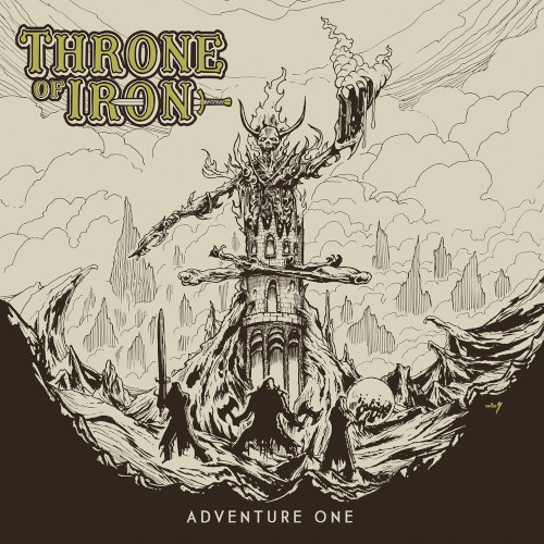 Throne Of Iron - Adventure One - Cover
