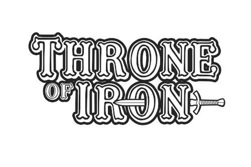 Das Logo der Band Throne Of Iron