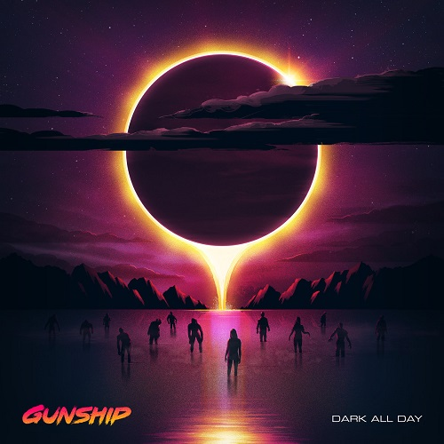 Gunship - Dark All Day - Cover